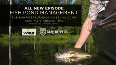 The GameKeepers of Mossy Oak TV | Fish Pond Management | Teaser