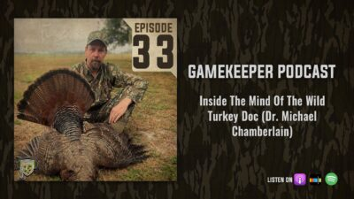 EP:33 | Inside The Mid of the Wild Turkey Doc (Dr. Michael Chamberlain)