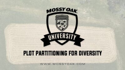 Food Plot Partitioning for Diversity
